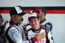 Kamui kobayashi,   TOYOTA GAZOO  Racing.  Le Mans 24 Hours Race, 12th to 18th June 2017 Circuit de la Sarthe, Le Mans, France.