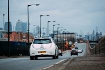 Nissan's autonomous drive demonstration event - London