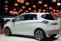 2013 Renault Zoe auto elettrica (modello europeo), al 2012 Salone dell'auto di Parigi