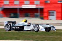 MOTORSPORT - FORMULA E TESTS - LA FERTE GAUCHER (FRA) 19/03/2014 - PHOTO : FREDERIC LE FLOC'H / DPPI