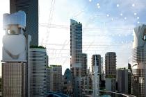 Smart Buildings, für die Siemens Gebäudeautomatisierungs- und Sicherheitstechnik anbietet, sind eine zusätzliche Möglichkeit des dezentralen Energiemanagements. Der Datenaustausch via intelligente Zähler ermöglicht es Energieversorgern, Einrichtungen der angeschlossenen Gebäude als dezentrale Energiepuffer nutzen zu können, zum Beispiel mit Hilfe thermischer Speicher oder thermoaktiven Baumaterialien. Damit übernehmen Smart Buildings die Funktion von Energiespeichern für Strom aus regenerativen Energiequellen, womit sich Lastspitzen reduzieren und Primärenergie sparen lassen.  Siemens supplies building automation and security technology for smart buildings, offering an additional opportunity for decentralized energy management. The use of smart meters to exchange data allows energy providers to use the equipment, such as cooling units, located in the buildings that are connected to their systems as decentralized energy buffers. This means smart buildings can serve as energy storage units for electrical power generated from renewable energy sources, reducing peak loads and conserving primary energy.