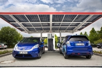 Europe's most advanced public electric vehicle charging station opened at Honda R&D Europe