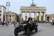 Die Pionierin der Elektromobilität zurück am historischen Ort