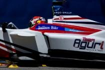 2015/2016 FIA Formula E Championship. Buenos Aires ePrix, Buenos Aires, Argentina. Saturday 6 February 2016. Antonio Felix da Costa (POR), Team Aguri - Spark SRT_01E. Photo: Zak Mauger/LAT/Formula E ref: Digital Image _L0U1009