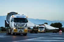 """Windenergieanlagen für das Projekt """"Snowtown II"""" / Wind turbines for Snowtown II wind farm"""