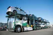 Toyota Natural Gas Car Hauler