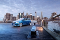 Mercedes-Benz B-Class Electric Drive in New York 2013 (Word Premiere at the New York International Auto Show 2013)