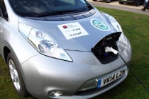 winning-nissan-leaf-recharging