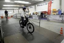 Lugano: Vel Expo Ticino 2011 esposizione veicoli efficienti. Nella foto uno scorcio tra gli stands di Vel Expo 2011. © Ti-Press / Samuel Golay