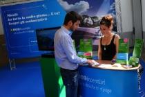 Lugano: 10° edizione VEL Expo Ticino 2012 esposizione veicoli efficienti. Nella foto .   © Ti-Press / Gabriele Putzu