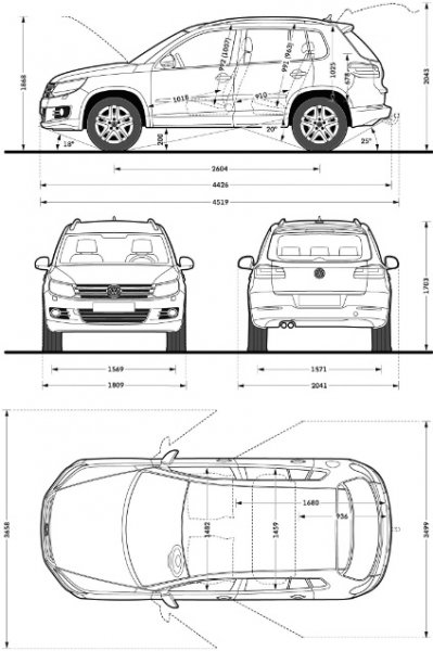 la nuova volkswagen tiguan electric motor news. Black Bedroom Furniture Sets. Home Design Ideas