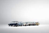 Historical line-up of Volvo estate models