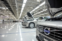 Production of the Volvo S60L