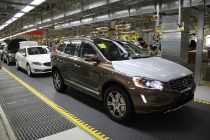 Production of the Volvo S60L and XC60 at the plant in Chengdu, China