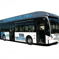 Autobus a idrogeno in California