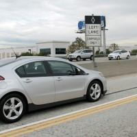La Chevy Volt ammessa nelle corsie preferenziali