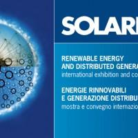 Solarexpo a Milano dal 2013