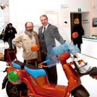 Il Cargoscooter Oxygen ridisegnato da Italo Rota