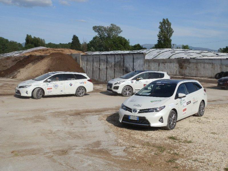 Eco-Rally 2014 all'impianto biogas