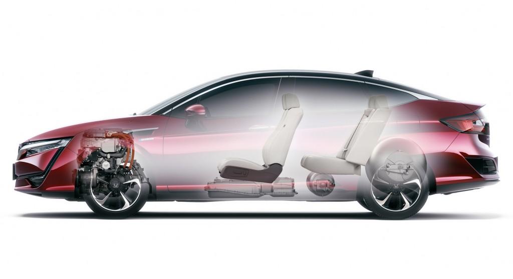 Honda Clarity Fuel Cell 2017 a circa 60 mila dollari ...