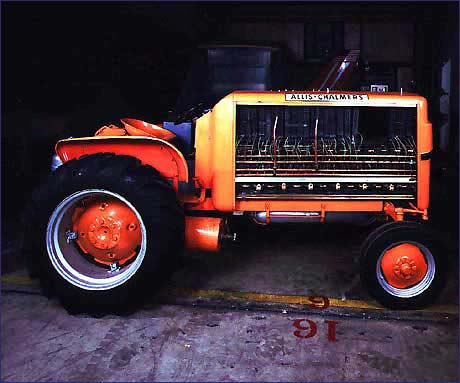 Trattore agricolo Allis Chalmers a fuel cell