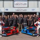 Il Team Venturi è a Parigi con due eroi del luogo
