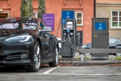ABB-technology-in-40-fast-charging-stations-across-Sweden-for-Vattenfall