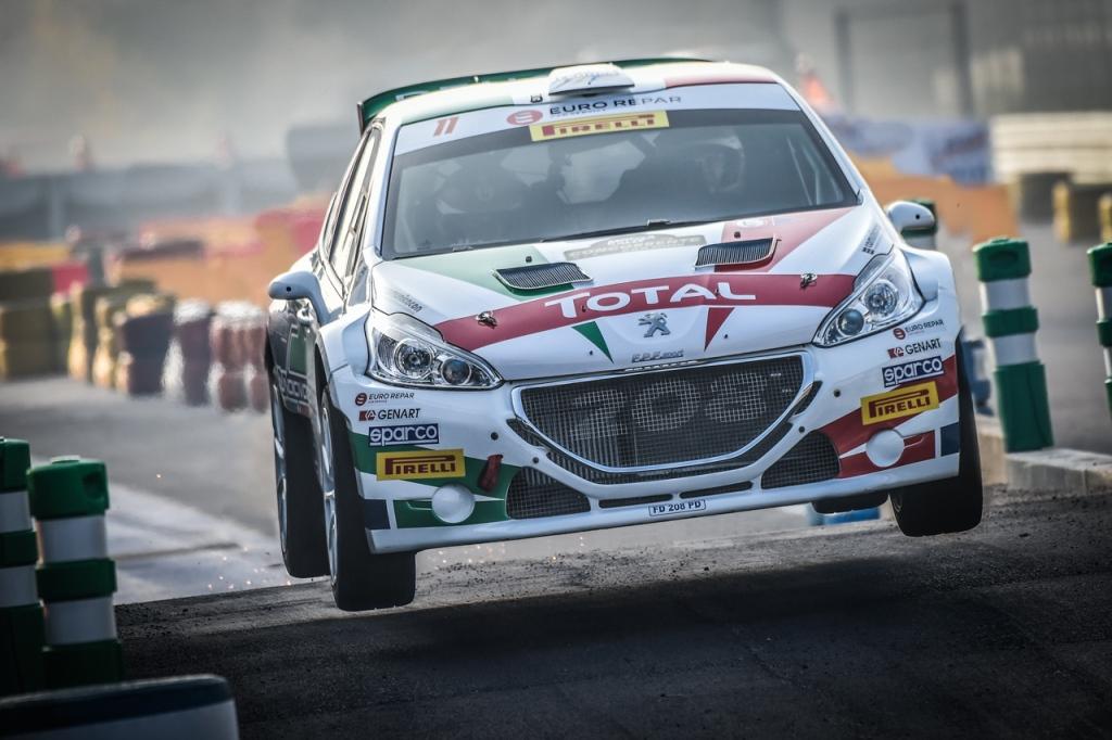 Andreucci e Peugeot al Rally di Monza 2018 (2)