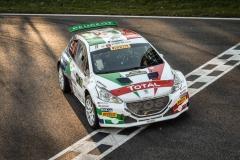 Andreucci e Peugeot al Rally di Monza 2018 (17)