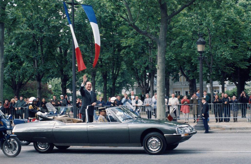 1995 - Investiture du President francais Jacques Chirac_1