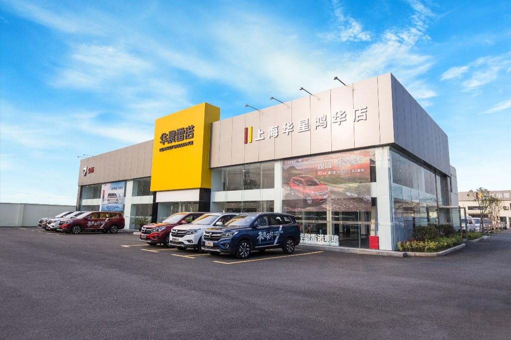 2019 - Réseau commercial RBJAC - Renault Brillance Jinbei Automotive Company