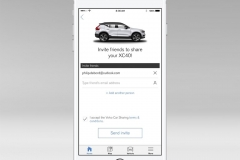 The New Volvo XC40 - Volvo On Call car sharing owner – invite guests