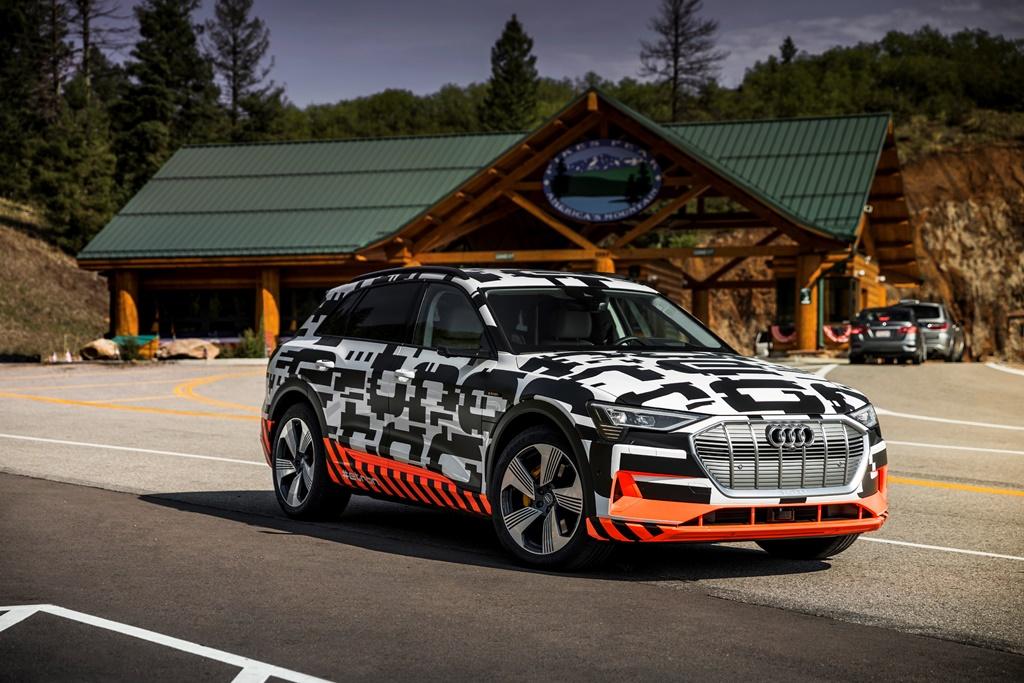 The Audi e-tron prototype