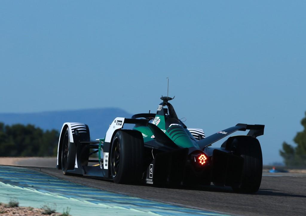 Formula E, test at Calafat