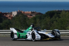 Formula E, test at Calafat