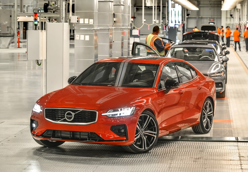 Volvo's new manufacturing plant in South Carolina, USA