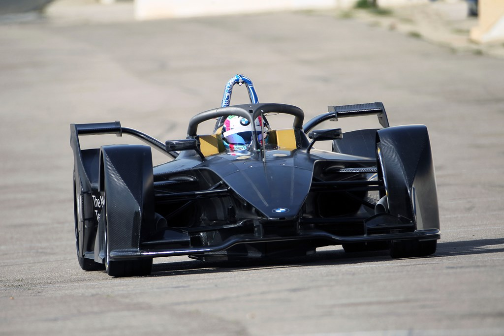 Calafat (ESP) 19th April 2018. BMW iMotorsport, BMW i, Bruno Spengler (CAN) BMW iFE.18, ABB FIA Formula E Championship.
