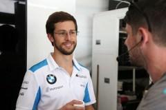 New York (USA) 12th July 2019. ABB FIA Formula E Championship, New York E-Prix, BMW i Andretti Motorsport,  Alexander Sims (GBR) BMW iFE.18 #27.