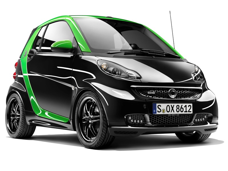 Smart Brabus electric drive 2012