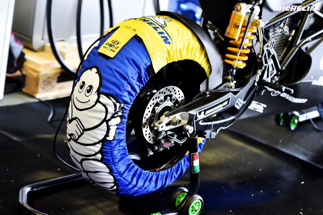 Divers tires  Test Jerez 2018 (Circuit Jerez) 23-24.11.2018 photo: MICHELIN