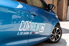 """CS- TPER SCEGLIE 240 RENAULT ZOE A BOLOGNA PER IL CAR SHARING 100% ELETTRICO """"CORRENTE"""""""