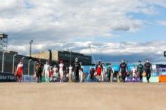 Jérôme d'Ambrosio (BEL), Mahindra Racing, M6Electro, Antonio Felix da Costa (PRT), DS Techeetah, Nyck De Vries (NLD), Mercedes Benz EQ, Neel Jani (CHE), Tag Heuer Porsche, Sam Bird (GBR), Envision Virgin Racing and Robin Frijns (NLD), Envision Virgin Racing