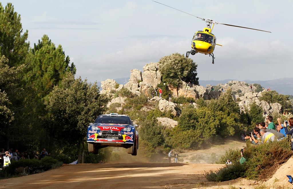 2012 FIA World Rally Championship Round 12, Rally d'Italia Sardinia 2012 18th - 21st October 2012  Worldwide Copyright: McKlein/Citroën