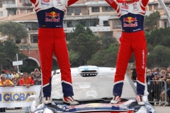2012 FIA World Rally Championship Round 12, Rally d'Italia Sardinia 2012 18th - 21st October 2012  Worldwide Copyright: McKlein/Citroën