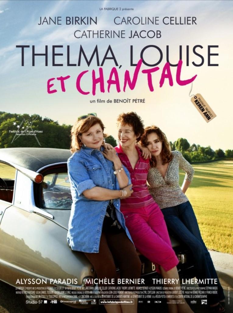 Locandina Thelma Louise et Chantal