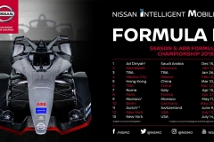 Nissan to race in 12 cities worldwide during Formula E's fifth season