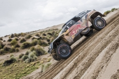 Carlos Sainz (ESP) of Team Peugeot TOTAL races during stage 7 of Rally Dakar 2018 from La Paz to Uyuni, Bolivia on January 13, 2018. // Flavien Duhamel/Red Bull Content Pool // P-20180113-00331 // Usage for editorial use only // Please go to www.redbullcontentpool.com for further information. //