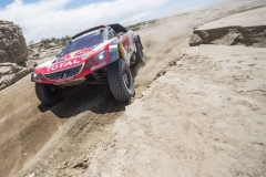 Cyril Despres (FRA) of Team Peugeot Total races during stage 10 of Rally Dakar 2018 from Salta to Belem, Argentina on January 16, 2018 // Marcelo Maragni/Red Bull Content Pool // P-20180116-01056 // Usage for editorial use only // Please go to www.redbullcontentpool.com for further information. //