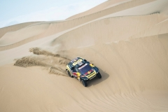 Sebastien Loeb (FRA) of PH Sport races during stage 09 of Rally Dakar 2019 from Pisco to Pisco, Peru on January 16, 2019 // Marcelo Maragni/Red Bull Content Pool // AP-1Y5728DDN1W11 // Usage for editorial use only // Please go to www.redbullcontentpool.com for further information. //