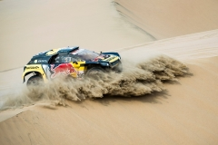 Sebastien Loeb (FRA) of PH Sport races during stage 09 of Rally Dakar 2019 from Pisco to Pisco, Peru on January 16, 2019 // Marcelo Maragni/Red Bull Content Pool // AP-1Y57287GN1W11 // Usage for editorial use only // Please go to www.redbullcontentpool.com for further information. //